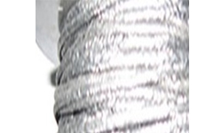 Graphite Yarn Wrapped With Wire Mesh
