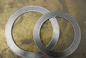 Graphite Gasket Reinforced With Metal Foil